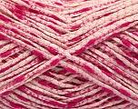 Fasergehalt 90% Baumwolle, 10% Polyamid, Pink Shades, Brand Ice Yarns, fnt2-55127