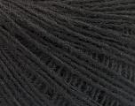 Fasergehalt 50% Merinowolle, 25% Acryl, 25% Alpaka, Brand Ice Yarns, Black, fnt2-55145