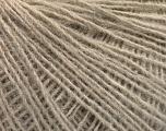 Fasergehalt 50% Merinowolle, 25% Alpaka, 25% Acryl, Brand Ice Yarns, Beige, fnt2-55147