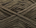 Fiber Content 70% Cotton, 30% Polyamide, Brand Ice Yarns, Dark Khaki, Yarn Thickness 4 Medium  Worsted, Afghan, Aran, fnt2-55169