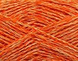 Fiber Content 35% Acrylic, 35% Cotton, 30% Viscose, Orange, Brand Ice Yarns, fnt2-55188