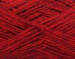 Contenido de fibra 35% Acrílico, 35% Algodón, 30% Viscosa, Red, Brand Ice Yarns, Burgundy, fnt2-55190