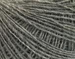Fasergehalt 50% Merinowolle, 25% Alpaka, 25% Acryl, Brand Ice Yarns, Grey, fnt2-55198