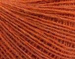 Fasergehalt 50% Merinowolle, 25% Alpaka, 25% Acryl, Orange, Brand Ice Yarns, fnt2-55202