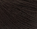 Fasergehalt 50% Merinowolle, 25% Alpaka, 25% Acryl, Brand Ice Yarns, Dark Brown, fnt2-55203