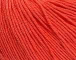 Global Organic Textile Standard (GOTS) Certified Product. CUC-TR-017 PRJ 805332/918191 Fiber Content 100% Organic Cotton, Salmon, Brand Ice Yarns, Yarn Thickness 3 Light  DK, Light, Worsted, fnt2-55220