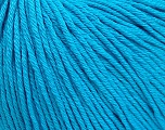 Global Organic Textile Standard (GOTS) Certified Product. CUC-TR-017 PRJ 805332/918191 Fiber Content 100% Organic Cotton, Turquoise, Brand Ice Yarns, Yarn Thickness 3 Light  DK, Light, Worsted, fnt2-55221