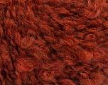 Fiberinnhold 45% Akryl, 25% Ull, 20% Mohair, 10% polyamid, Brand Ice Yarns, Copper, fnt2-55228