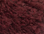 Fiber Content 45% Acrylic, 25% Wool, 20% Mohair, 10% Polyamide, Brand ICE, Burgundy, Yarn Thickness 4 Medium  Worsted, Afghan, Aran, fnt2-55229