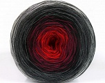 Fiber Content 50% Cotton, 50% Acrylic, Red, Brand ICE, Grey Shades, Burgundy, Black, Yarn Thickness 2 Fine  Sport, Baby, fnt2-55241