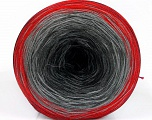Fiber Content 50% Cotton, 50% Acrylic, Red, Brand ICE, Grey Shades, Black, Yarn Thickness 2 Fine  Sport, Baby, fnt2-55242