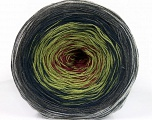 Fiber Content 50% Cotton, 50% Acrylic, Maroon, Brand ICE, Grey Shades, Green Shades, Yarn Thickness 2 Fine  Sport, Baby, fnt2-55244