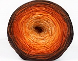 Fiber Content 50% Cotton, 50% Acrylic, Yellow, Orange, Brand ICE, Cream, Brown Shades, Yarn Thickness 2 Fine  Sport, Baby, fnt2-55245