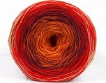 Fiber Content 50% Cotton, 50% Acrylic, Yellow, Red, Orange, Maroon, Brand ICE, Yarn Thickness 2 Fine  Sport, Baby, fnt2-55246