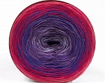 Fiber Content 50% Cotton, 50% Acrylic, Turquoise, Pink Shades, Lilac, Brand Ice Yarns, Blue, fnt2-55250