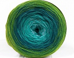 Fiber Content 50% Cotton, 50% Acrylic, Brand ICE, Green Shades, Yarn Thickness 2 Fine  Sport, Baby, fnt2-55252