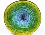 Fiber Content 50% Cotton, 50% Acrylic, Yellow, Lilac, Light Blue, Brand ICE, Green Shades, Yarn Thickness 2 Fine  Sport, Baby, fnt2-55253