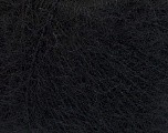 Fiber Content 67% Alpaca Superfine, 6% Elastan, 27% Polyamide, Brand Ice Yarns, Black, Yarn Thickness 1 SuperFine  Sock, Fingering, Baby, fnt2-55266