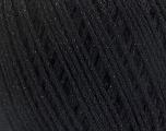 Состав пряжи 50% Хлопок, 30% Акрил, 20% Металлический люрекс, Brand Ice Yarns, Black, fnt2-55282