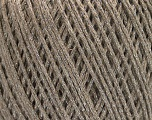 Fiber Content 50% Cotton, 30% Acrylic, 20% Metallic Lurex, Silver, Brand ICE, Beige, Yarn Thickness 3 Light  DK, Light, Worsted, fnt2-55290