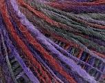 Fiber Content 50% Wool, 50% Acrylic, Purple Shades, Brand Ice Yarns, Burgundy, fnt2-55305