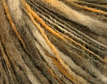 Fiber Content 60% Acrylic, 40% Wool, Yellow, Khaki, Brand ICE, Cream, Yarn Thickness 3 Light  DK, Light, Worsted, fnt2-55308