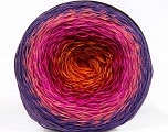 Fiber Content 50% Cotton, 50% Acrylic, Red, Purple, Pink Shades, Orange, Brand Ice Yarns, Yarn Thickness 2 Fine  Sport, Baby, fnt2-55321