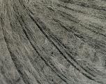 Fiber Content 50% Mohair, 50% Wool, Brand Ice Yarns, Grey, Black, fnt2-55324