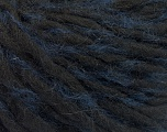 Fiber Content 50% Acrylic, 5% Polyamide, 35% Wool, 10% Mohair, Navy, Brand Ice Yarns, Black, fnt2-55334