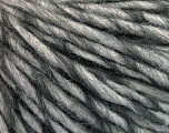 Fiber Content 50% Acrylic, 5% Polyamide, 35% Wool, 10% Mohair, Brand Ice Yarns, Grey Shades, fnt2-55338