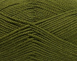 Fiber Content 100% Acrylic, Khaki, Brand Ice Yarns, Yarn Thickness 2 Fine  Sport, Baby, fnt2-55382