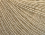 Fiber Content 50% Wool, 50% Acrylic, Brand ICE, Beige, Yarn Thickness 2 Fine  Sport, Baby, fnt2-55409