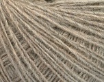 Fasergehalt 50% Merinowolle, 25% Alpaka, 25% Acryl, Brand Ice Yarns, Beige, fnt2-55410