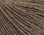Fiber Content 50% Acrylic, 25% Merino Wool, 25% Alpaca, Brand ICE, Camel Melange, Yarn Thickness 2 Fine  Sport, Baby, fnt2-55411