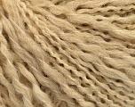 Contenido de fibra 50% Lana, 40% Acrílico, 10% Poliamida, Brand Ice Yarns, Cafe Latte, fnt2-55417
