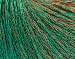 Состав пряжи 55% Акрил, 30% Шерсть, 15% Полиамид, Brand Ice Yarns, Emerald Green, Brown Shades, Yarn Thickness 3 Light  DK, Light, Worsted, fnt2-55429