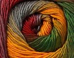 Contenido de fibra 50% Acrílico, 50% Lana, Yellow, Red, Brand Ice Yarns, Grey, Green, fnt2-55463