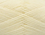 Fiber Content 75% Superwash Wool, 25% Polyamide, Brand Ice Yarns, Cream, Yarn Thickness 1 SuperFine  Sock, Fingering, Baby, fnt2-55465