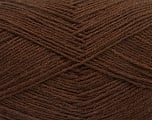 Fiber Content 75% Superwash Wool, 25% Polyamide, Brand Ice Yarns, Brown, fnt2-55467
