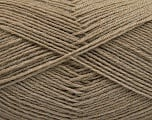 Fiber Content 75% Superwash Wool, 25% Polyamide, Brand Ice Yarns, Camel, fnt2-55468