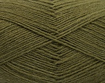 Fiber Content 75% Superwash Wool, 25% Polyamide, Khaki, Brand Ice Yarns, fnt2-55469