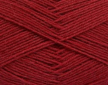 Fiber Content 75% Superwash Wool, 25% Polyamide, Brand Ice Yarns, Burgundy, fnt2-55473