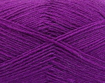 Fiber Content 75% Superwash Wool, 25% Polyamide, Purple, Brand Ice Yarns, fnt2-55474