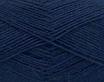 Fiber Content 75% Superwash Wool, 25% Polyamide, Navy, Brand Ice Yarns, fnt2-55475