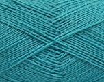 Fiber Content 75% Superwash Wool, 25% Polyamide, Turquoise, Brand Ice Yarns, fnt2-55477
