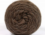Fiber Content 100% Wool, Brand Ice Yarns, Brown, fnt2-55483