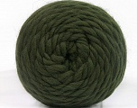 Fiber Content 100% Wool, Brand Ice Yarns, Dark Green, fnt2-55485