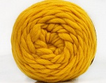Fiber indhold 100% Uld, Yellow, Brand Ice Yarns, fnt2-55489