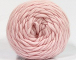 Fiber Content 100% Wool, Light Pink, Brand Ice Yarns, Yarn Thickness 6 SuperBulky  Bulky, Roving, fnt2-55491