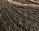 Fiber Content 60% Polyamide, 40% Wool, Brand Ice Yarns, Dark Grey, Camel, Brown, fnt2-55514